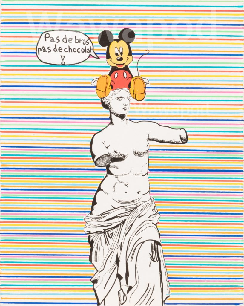"""Vénus de Mickey"" / 40x50cm / 2020"